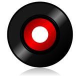 Vinyl verslag met schaduw vector illustratie