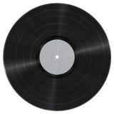 Vinyl verslagknipsel Stock Afbeelding