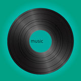 Vinyl vintage cover. Graphic background for vintage cover Royalty Free Stock Photos