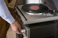 Vinyl. Vintage music song retro Stock Photography