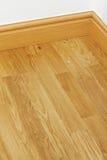 Vinyl wooden flooring mdf skirting boards Royalty Free Stock Images