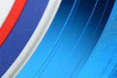 Vinylalbum-Auszug Stockbilder