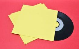 Vinylaufzeichnungen lizenzfreie stockbilder