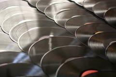 Vinylaufzeichnungen lizenzfreie stockfotos