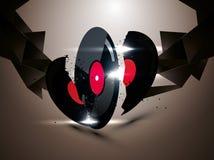 Vinyldisketten Lizenzfreies Stockfoto