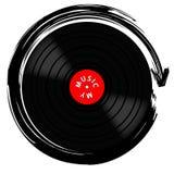 Vinyle disque-LP Images libres de droits