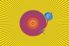 vinyle du DJ Illustration de Vecteur