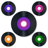 Vinyle record Image libre de droits