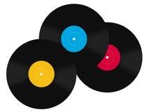 vinyles Image libre de droits