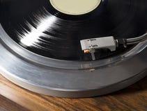 Vinylgrammofonrekord arkivbilder