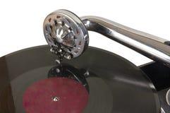 vinylic forntida platta royaltyfri bild