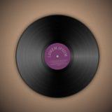 Vinylmusikrekord Royaltyfria Foton