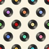 Vinylmuster Lizenzfreies Stockbild