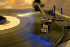 Vinylplatenspeler Royalty-vrije Stock Fotografie