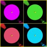 Vinylplattenfirmen Lizenzfreies Stockbild