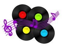 Vinylregister Royaltyfri Foto