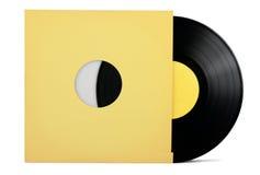 Vinylrekord Arkivbilder
