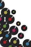 Vinylsätze Lizenzfreie Stockfotos