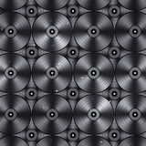Vinyls Music Background Stock Images