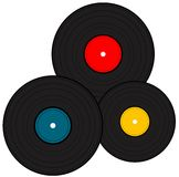 Vinylsatz Lizenzfreie Stockfotos