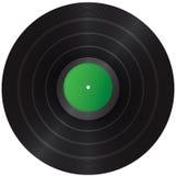 Vinylsatz Stockbild
