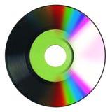 Vinylsatz und -cd Stockfoto