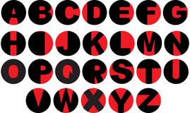 Vinylsatzzeichen Stockfotos