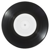 Vinylsingel Arkivbild