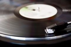 Vinylskivspelare Royaltyfri Foto