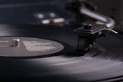 Vinylskivspelare Arkivbilder