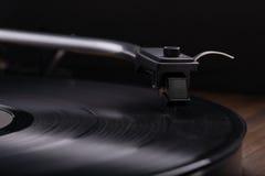 Vinylskivspelare Arkivfoton