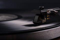 Vinylskivspelare Arkivfoto