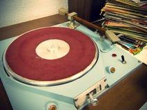 Vinylspelare Royaltyfri Bild