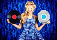 Vinylverslag Royalty-vrije Stock Fotografie