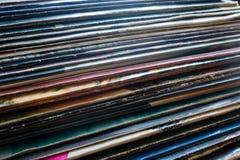 Vinylverslag in het pakket Stock Fotografie