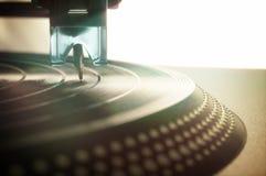 Vinylverslag Retro Wijnoogst Royalty-vrije Stock Fotografie