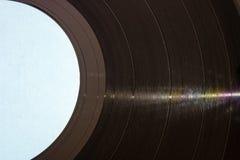 Vinylverslagclose-up Royalty-vrije Stock Foto's