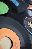 Vinylverslagen Stock Afbeeldingen