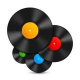 Vinylverslagen vector illustratie