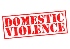 Violência doméstica Imagem de Stock