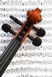 Violín Imagen de archivo libre de regalías