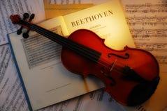 VIOLÍN (Beethoven 4) Fotos de archivo libres de regalías
