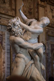 Viol de Proserpine par Gian Lorenzo Bernini Photos libres de droits