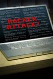 Violação da segurança Imagens de Stock Royalty Free
