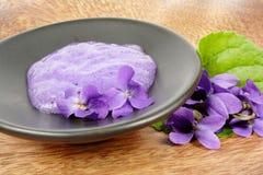 Viola aromatherapy Stock Image