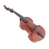 Viola d'amore music instrument. Viola d'amore  on white background. Music instrument. 3d illustration Stock Image