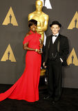 Viola Davis et Mark Rylance Photographie stock
