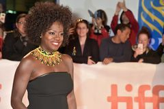 Viola Davis at premiere of Widows at Toronto International Film Festival Royalty Free Stock Photos
