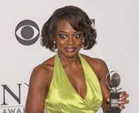 Viola Davis at 64th Tonys in 2010 Royalty Free Stock Images