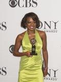 Viola Davis Wins Big bei 64. jährlichem Tony Awards im Jahre 2010 Stockbild